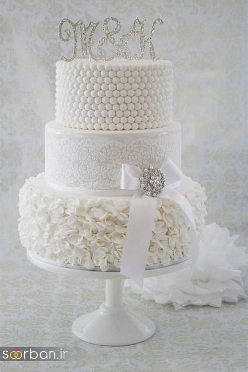 محبوبترین کیک های عروسی9