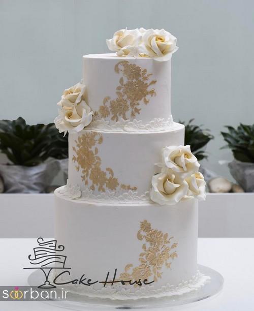 کیک های عروسی ایرانی جدید و بسیار شیک