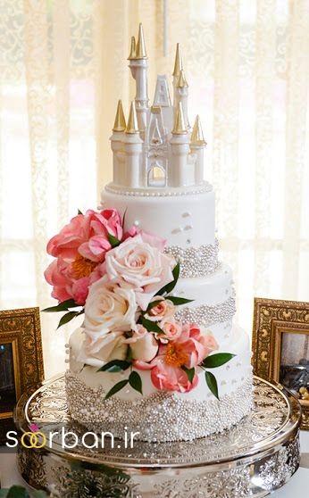 کیک عروسی مدل قصر 7