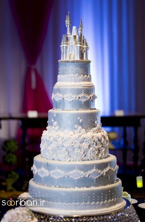 کیک عروسی مدل قصر 12