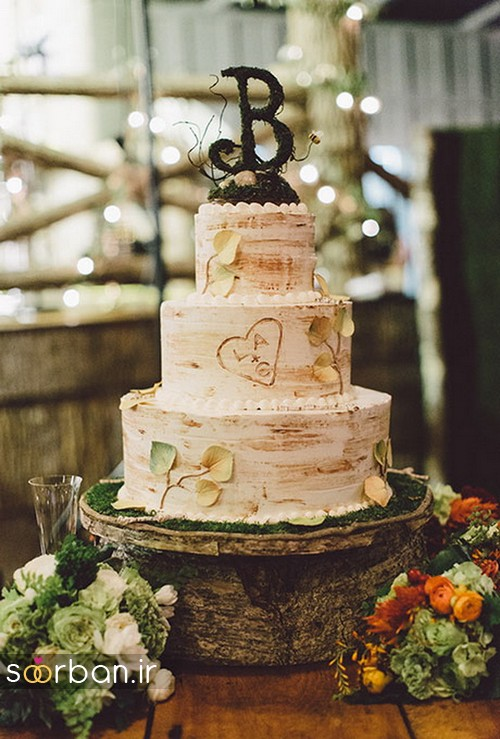 کیک عروسی پاییزی 7