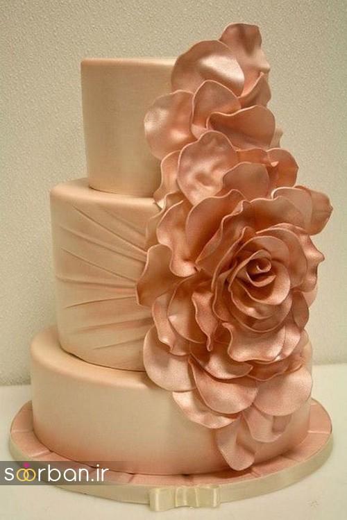 کیک عروسی پاییزی 11