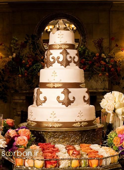 کیک عروسی پاییزی16