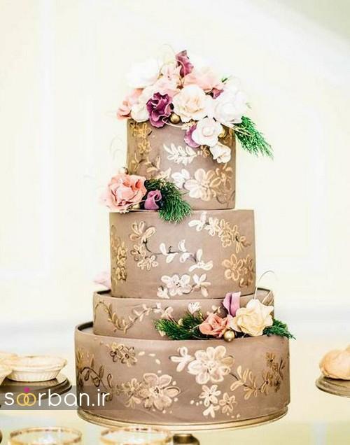 کیک عروسی پاییزی 17