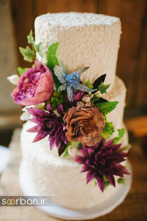 کیک عروسی پاییزی 18