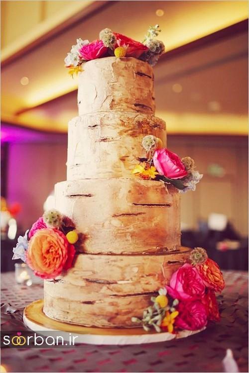 کیک عروسی پاییزی 21
