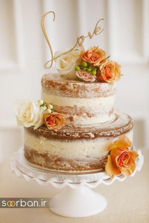 کیک عروسی پاییزی 27