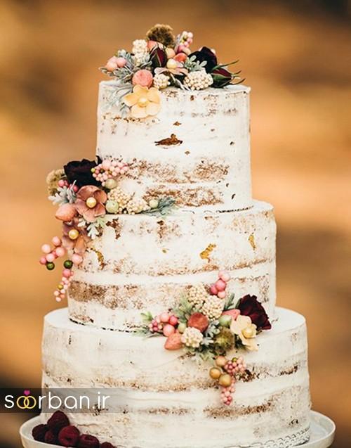 کیک عروسی پاییزی 28
