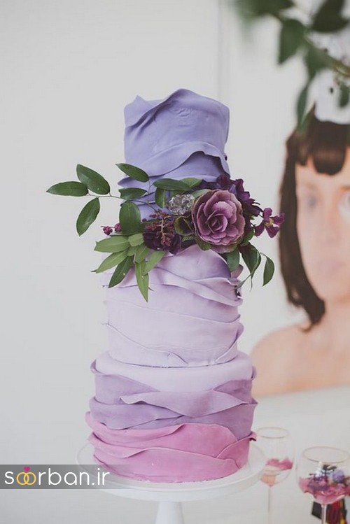 کیک عروسی پاییزی 29