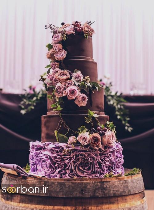 کیک عروسی پاییزی 130