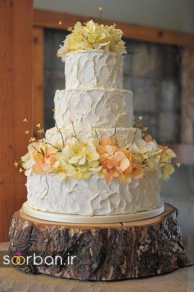 کیک عروسی پاییزی 36