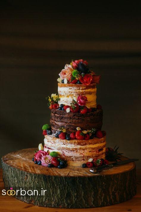 کیک عروسی پاییزی 37