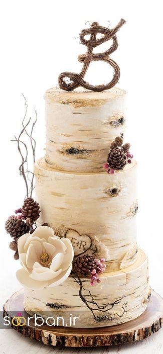 کیک عروسی پاییزی 39