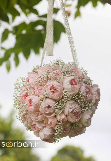 دسته گل عروس توپی1