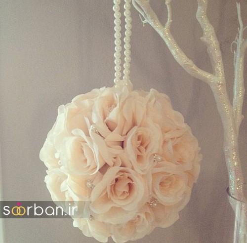 دسته گل عروس توپی6