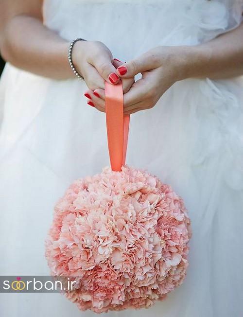 دسته گل عروس توپی12