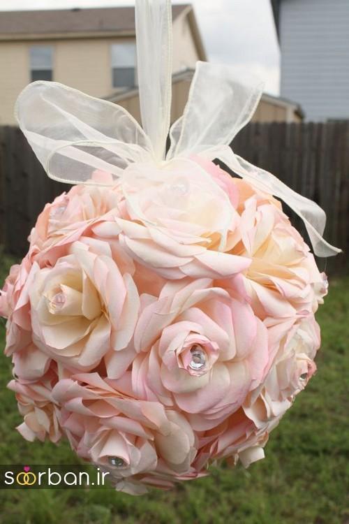 دسته گل عروس توپی14