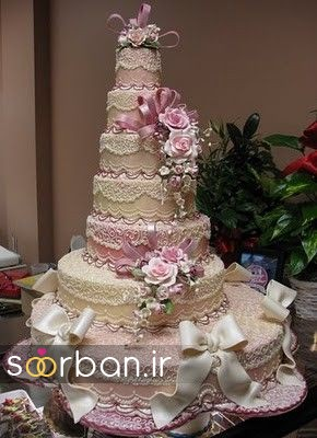 باشکوه ترین و لوکس ترین کیک های عروسی 8