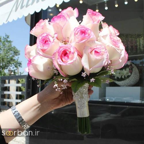 دسته گل عروس جدید ایرانی 98 18