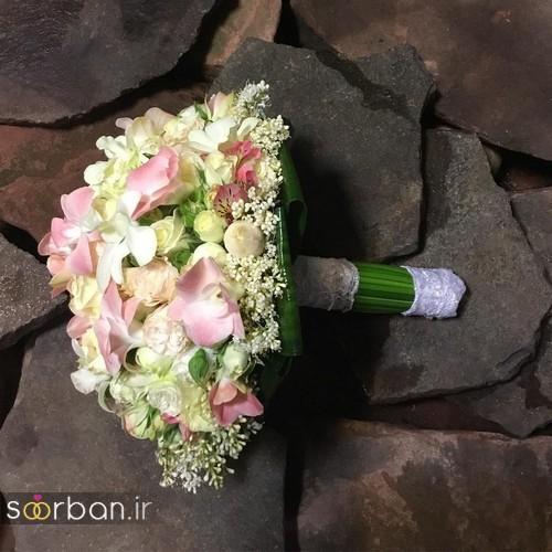 عکس دسته گل عروس جدید ایرانی 98
