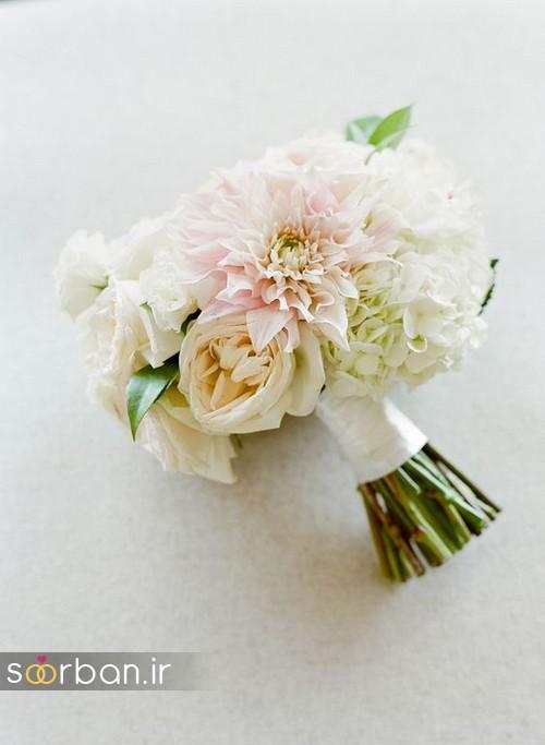 دسته گل عروس بهاری رومانتیک712