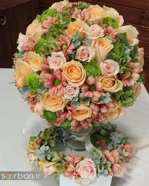 دسته گل عروس و نامزدی زیبا 99 و 2020-1