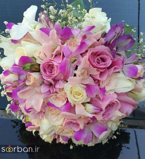 دسته گل عروس و نامزدی زیبا 99 و 2020-2