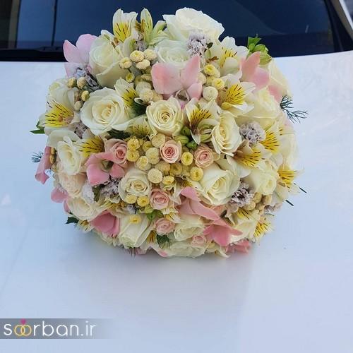 دسته گل عروس و نامزدی زیبا 99 و 2020-3