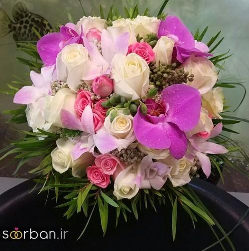دسته گل عروس و نامزدی زیبا 99 و 2020-4