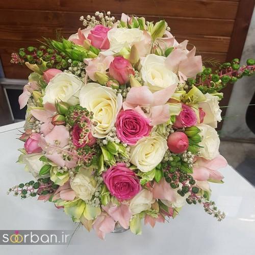 دسته گل عروس و نامزدی زیبا 99 و 2020-5