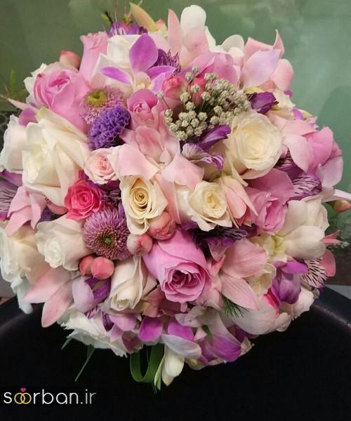 دسته گل عروس و نامزدی زیبا 99 و 2020-6