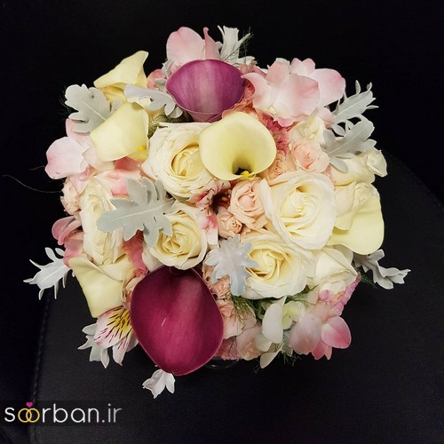 دسته گل عروس و نامزدی زیبا 99 و 2020-7