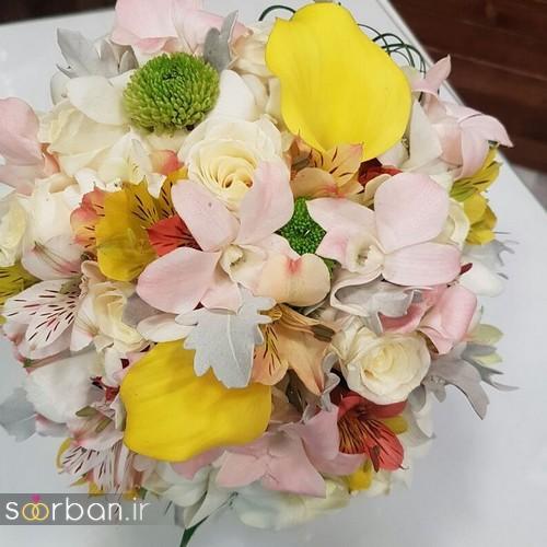 دسته گل عروس و نامزدی زیبا 99 و 2020-8