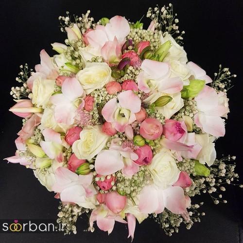 دسته گل عروس و نامزدی زیبا 99 و 2020-9