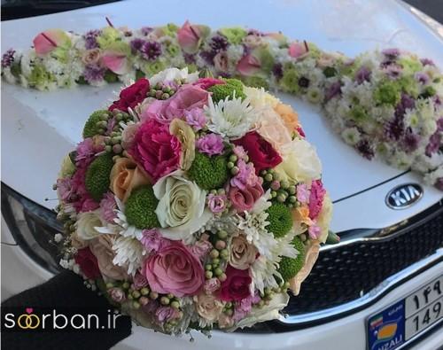 دسته گل عروس و نامزدی زیبا 99 و 2020-13