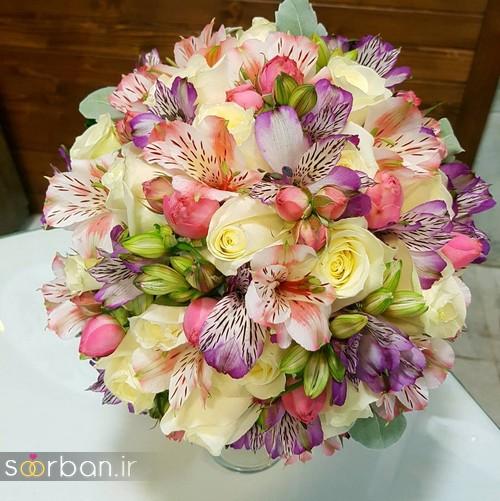 دسته گل عروس و نامزدی زیبا 99 و 2020-15