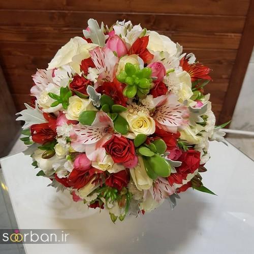 دسته گل عروس و نامزدی زیبا 99 و 2020-18