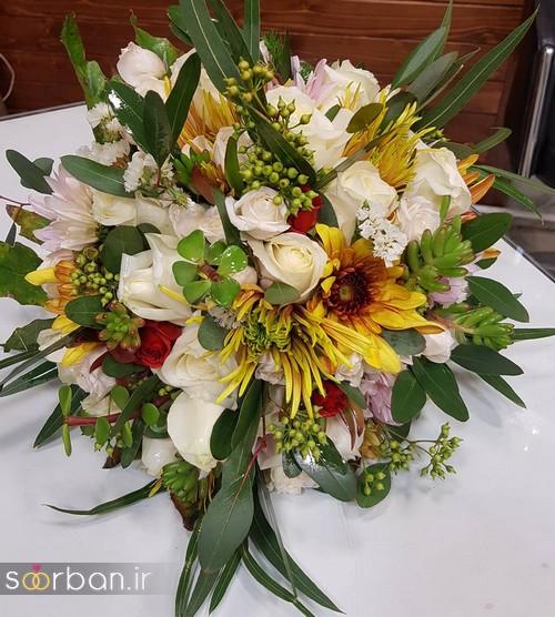 دسته گل عروس و نامزدی زیبا 99 و 2020-19