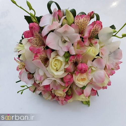 دسته گل عروس و نامزدی زیبا 99 و 2020-21