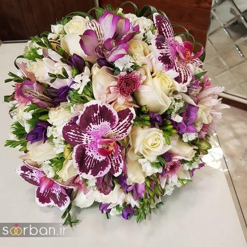 دسته گل عروس و نامزدی زیبا 99 و 2020-25