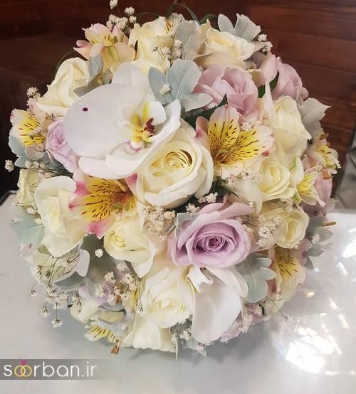 دسته گل عروس و نامزدی زیبا 99 و 2020-26