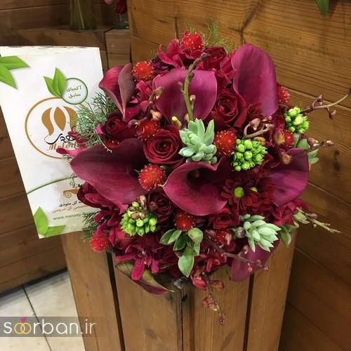 دسته گل عروس و نامزدی زیبا 99 و 2020-27