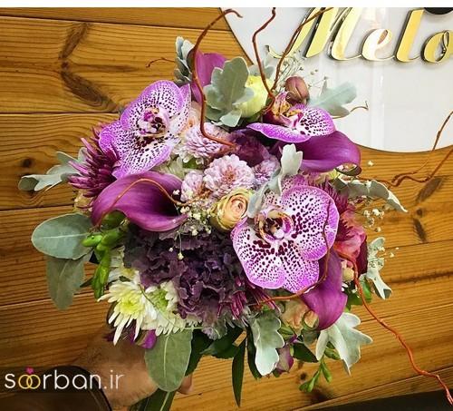 دسته گل عروس و نامزدی زیبا 99 و 2020-28