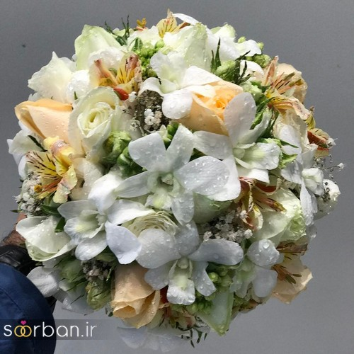 دسته گل عروس و نامزدی زیبا 99 و 2020-31