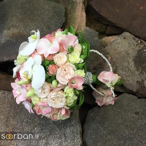 دسته گل عروس و نامزدی زیبا 99 و 2020-35