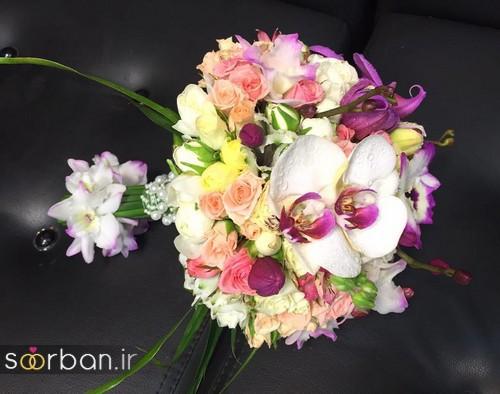 دسته گل عروس و نامزدی زیبا 99 و 2020-36
