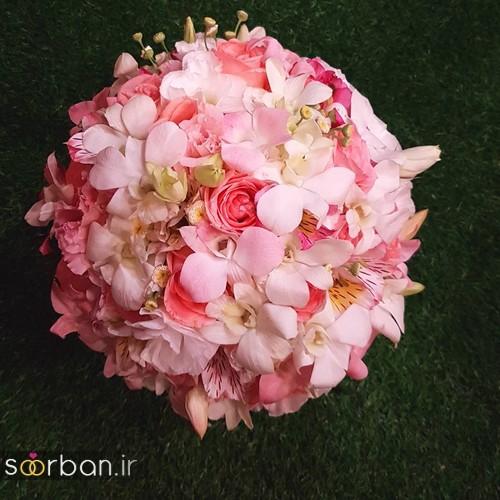 دسته گل عروس و نامزدی زیبا 99 و 2020-38
