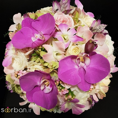 دسته گل عروس و نامزدی زیبا 99 و 2020-39