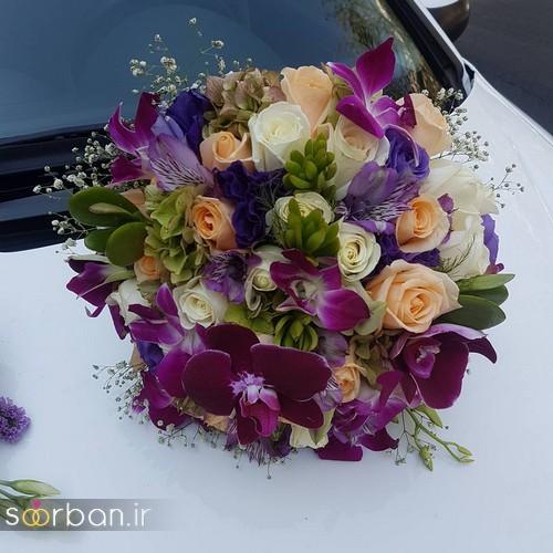 دسته گل عروس و نامزدی زیبا 99 و 2020-40
