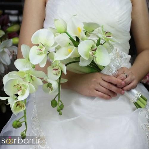 دسته گل عروس شیپوری 1
